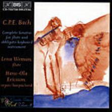 Sonate per flauto - CD Audio di Carl Philipp Emanuel Bach