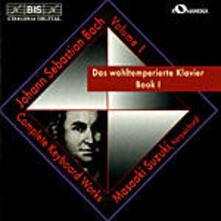 Das Wohltemperierte Klavi - CD Audio di Johann Sebastian Bach,Masaaki Suzuki