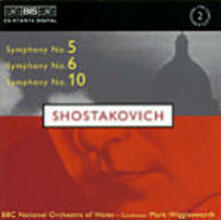 Sinfonia n.5, 6&10 - CD Audio di Dmitri Shostakovich