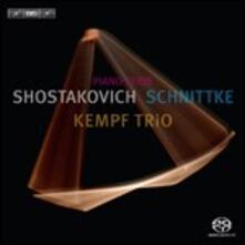 Trii con pianoforte - SuperAudio CD ibrido di Dmitri Shostakovich,Alfred Schnittke,Kempf Trio