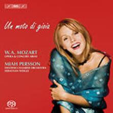 Un Moto di Gioia - SuperAudio CD di Wolfgang Amadeus Mozart,Miah Persson