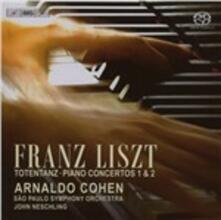 Totentanz - Concerto per Pianoforte - SuperAudio CD di Franz Liszt,Arnaldo Cohen