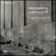 Sinfonia n.11 - SuperAudio CD di Dmitri Shostakovich,Mark Wigglesworth