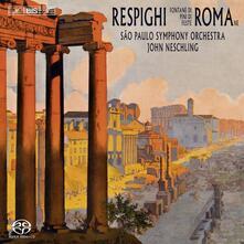 Roman Trilogy - SuperAudio CD di Ottorino Respighi,John Neschling