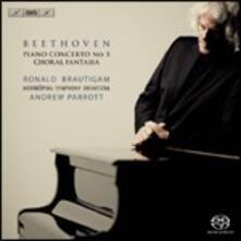 Concerto per Pianoforte No. 5 - SuperAudio CD di Ludwig van Beethoven,Andrew Parrott,Ronald Brautigam,Orchestra Sinfonica di Norrköping