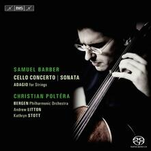 Concerto for Cello & Orch - SuperAudio CD di Samuel Barber