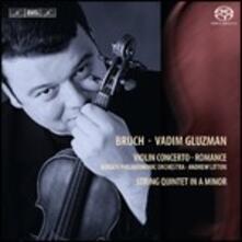 Concerto per Violino - SuperAudio CD di Max Bruch,Vadim Gluzman
