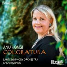 Coloratura - SuperAudio CD di Anu Komsi