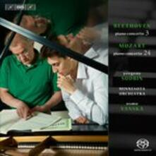 Piano Concerto No.3&24 - SuperAudio CD di Ludwig van Beethoven,Wolfgang Amadeus Mozart