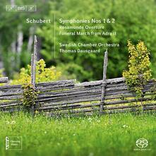 Symphonies No. 1 & 2 - SuperAudio CD di Franz Schubert