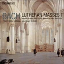 Lutheran Masses 1 - SuperAudio CD di Johann Sebastian Bach