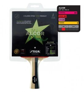 Giocattolo Racchetta da ping pong Alcor l 1 stella Stiga