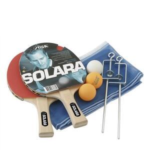 Set ping pong Solara. 2 racchette e 3 palline + rete e tendirete - 2