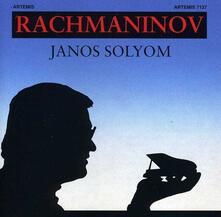 Janos Solyom Plays Rachma - CD Audio di Sergej Vasilevich Rachmaninov