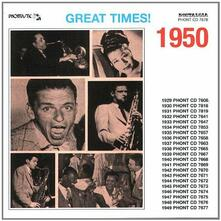 Great Times! 1950 - CD Audio