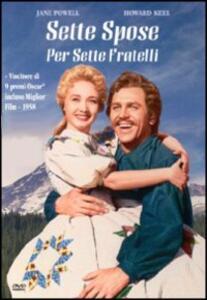 Sette spose per sette fratelli di Stanley Donen - DVD