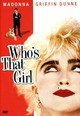 Cover Dvd DVD Who's That Girl?