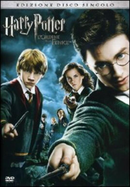 Harry Potter e l'ordine della Fenice (1 DVD) di David Yates - DVD