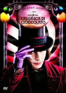 La fabbrica di cioccolato (1 DVD) di Tim Burton - DVD