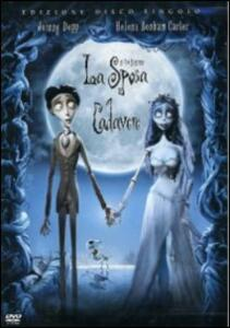 La sposa cadavere (1 DVD) di Tim Burton,Mike Johnson - DVD