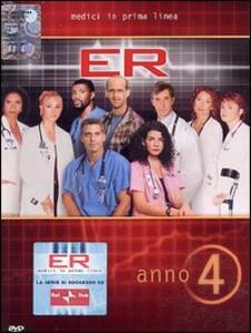 ER Medici in prima linea. Stagione 4 (4 DVD) - DVD