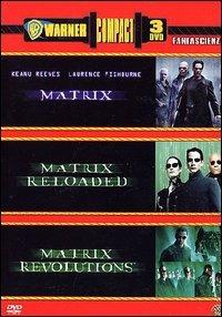 Locandina Matrix - La trilogia