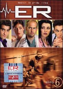 ER Medici in prima linea. Stagione 6 (3 DVD) - DVD