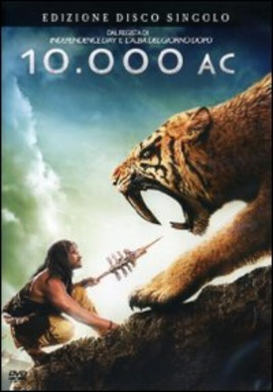 10.000 AC (1 DVD) di Roland Emmerich - DVD