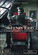 Film Sweeney Todd. Il diabolico barbiere di Fleet Street (1 DVD) Tim Burton