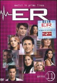 Cover Dvd ER Medici in prima linea. Stagione 11 (DVD)