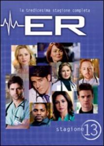 ER Medici in prima linea. Stagione 13 (3 DVD) - DVD