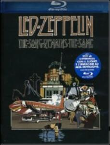 Led Zeppelin. The Song Remains the Same di Peter Clifton,Joe Massot - Blu-ray