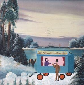 At The Feel Free Falafel - Vinile LP di Daniel Karlsson