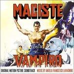 Cover CD Colonna sonora Maciste contro il vampiro