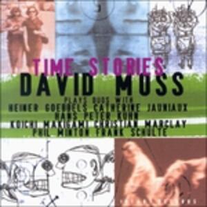 CD Time Stories David Moss