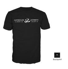 T-Shirt unisex Hitman. Custom Slide Automatic Black