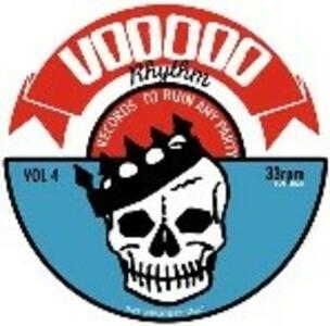 Voodoo Rhythm Compilation vol.4 - Vinile LP