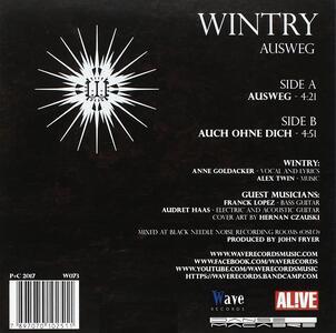 Ausweg - Vinile LP di Wintry - 2