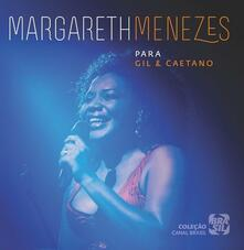 Para Gil & Caetano - CD Audio di Margareth Menezes