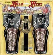 Cinturone Con 2 Fondine. Wild West M/N