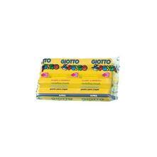 Pasta da modellare Giotto Pongo. Panetto 450 g. Giallo