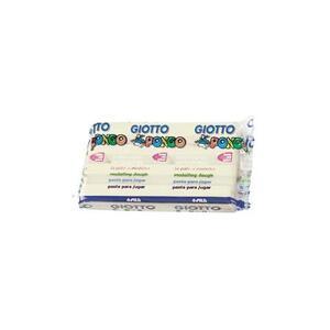 Pasta da modellare Giotto Pongo. Panetto 450 g. Bianco