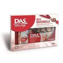 Pasta da modellare Das Idea Mix Bijoux Nero Portoro
