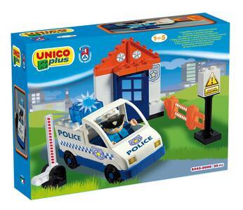 Unico Plus. Auto della Polizia