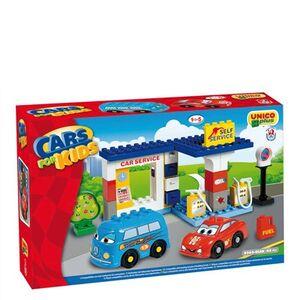 Giocattolo Cars stazione di servizio Androni