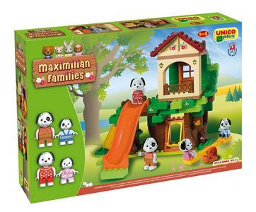Giocattolo Unico Plus. Maximilian Families. Parco Giochi Androni