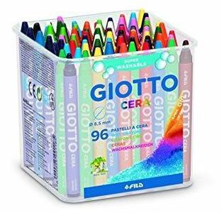 Pastelli a cerca Giotto Cera. Barattolo 96 colori assortiti