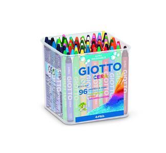Pastelli a cerca Giotto Cera. Barattolo 96 colori assortiti - 2