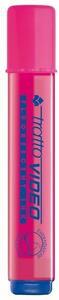 Evidenziatore Tratto Video rosa punta 1- 5 mm. Confezione 12 pezzi