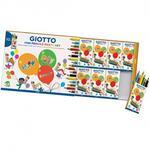 Party Set Mini Pencils 10 scatoline regalo con 6 mini pastelli